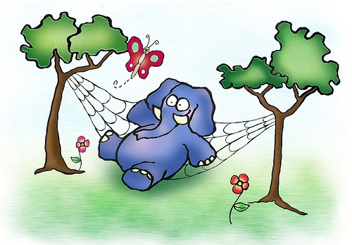 Canción infantil un elefante se balanceaba